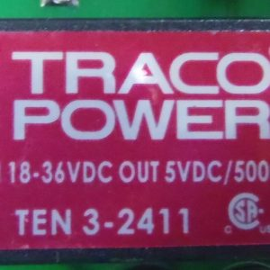 TRACO POWER IN 18 - 36VDC OUT 5VDC/500mA