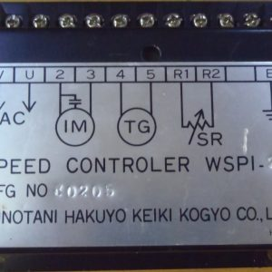 SPEED CONTROLLER WSPI-2A